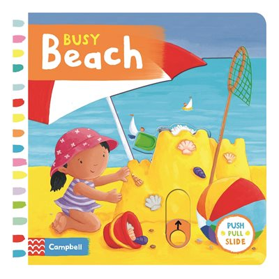 Book cover for Busy Beach